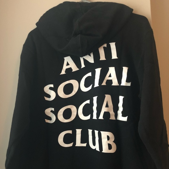 fb3bf8349195 Anti Social Social Club Tops - Anti Social Social Club (ASSC) Hoodie